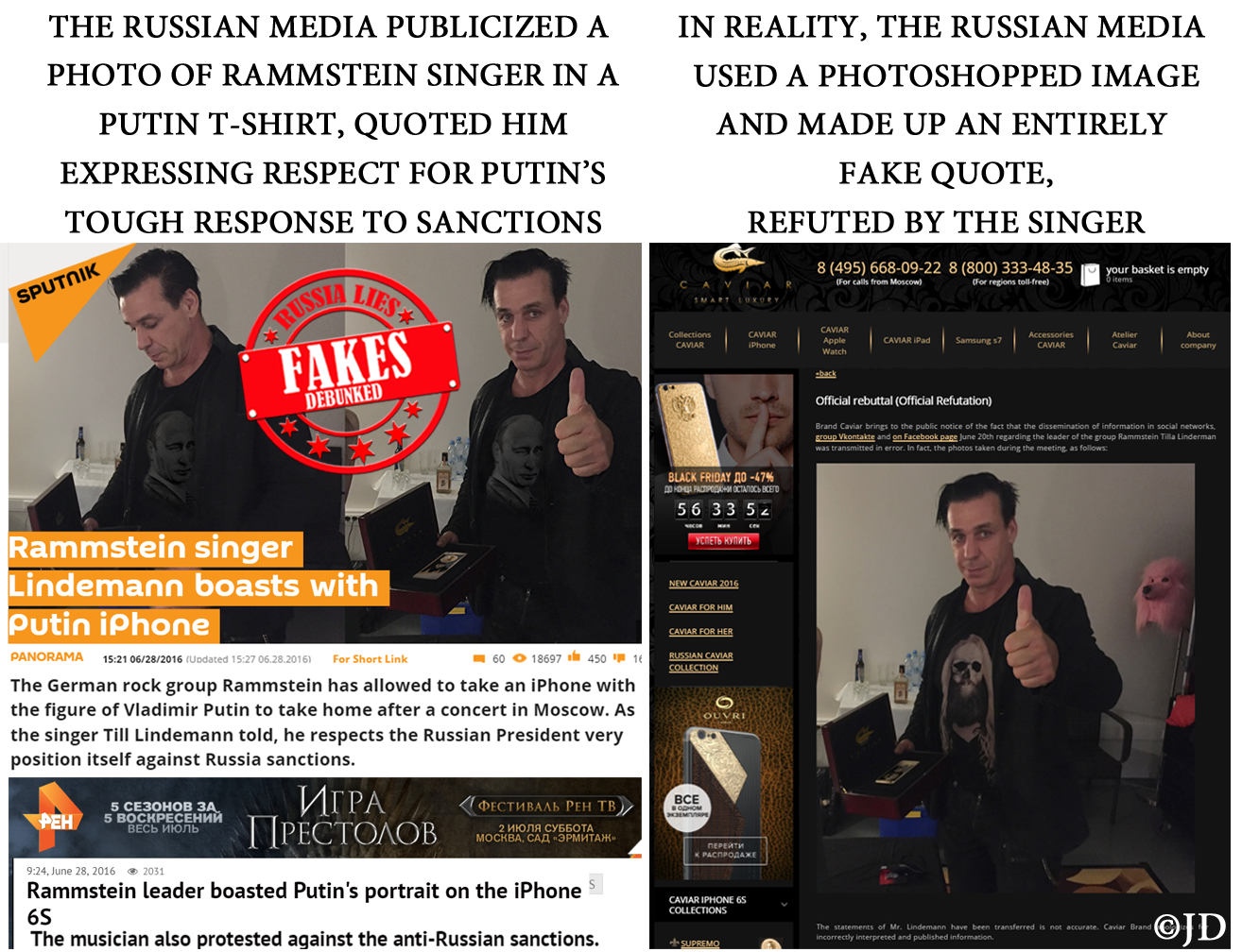 RUSSIAN FAKE EXPOSED EXAMINER 254